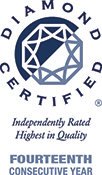 Fourteenth Consecutive Year Diamond Certified