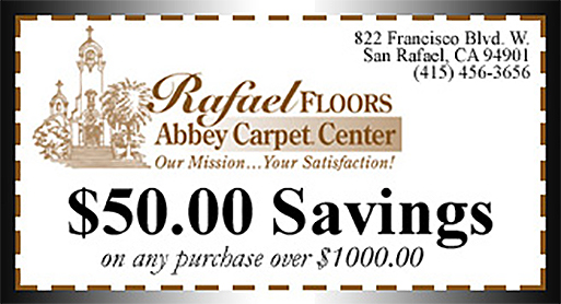 $50.00 Savings on any purchase over $1,000.00.
